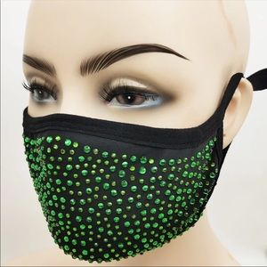 ⭐️ Bling 3D Face Mask Filter Pocket Soft Cotton Fabric - Hand made/Made in USA
